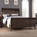 Winners Only Xcalibur Queen Sleigh Bed - Item Number: BX1002Q