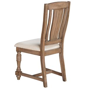 Winners Only Xcalibur Slat Back Counter Height Side Chair