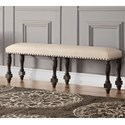 Winners Only Xcalibur Upholstered Bench - Item Number: DX1456X