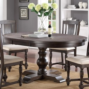 "66"" Pedestal Table"