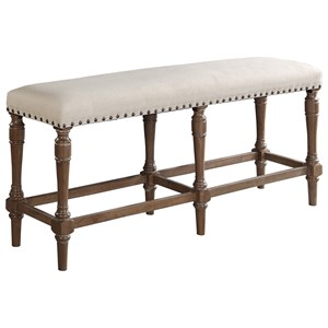 Upholstered Tall Bench