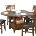Winners Only Zahara Round Dining Table - Item Number: DZH4260
