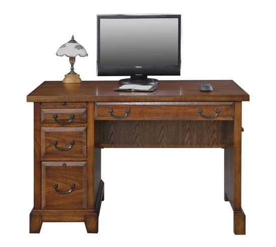 Zahara Single Pedestal Desk With 4 Drawers Rotmans