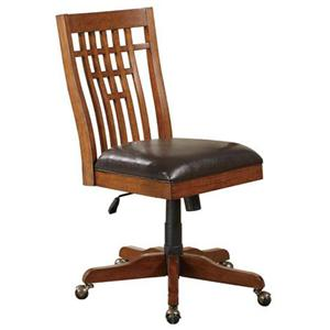 Winners Only Zahara Office Chair With Pump Height Adjust And Star Wheel Base