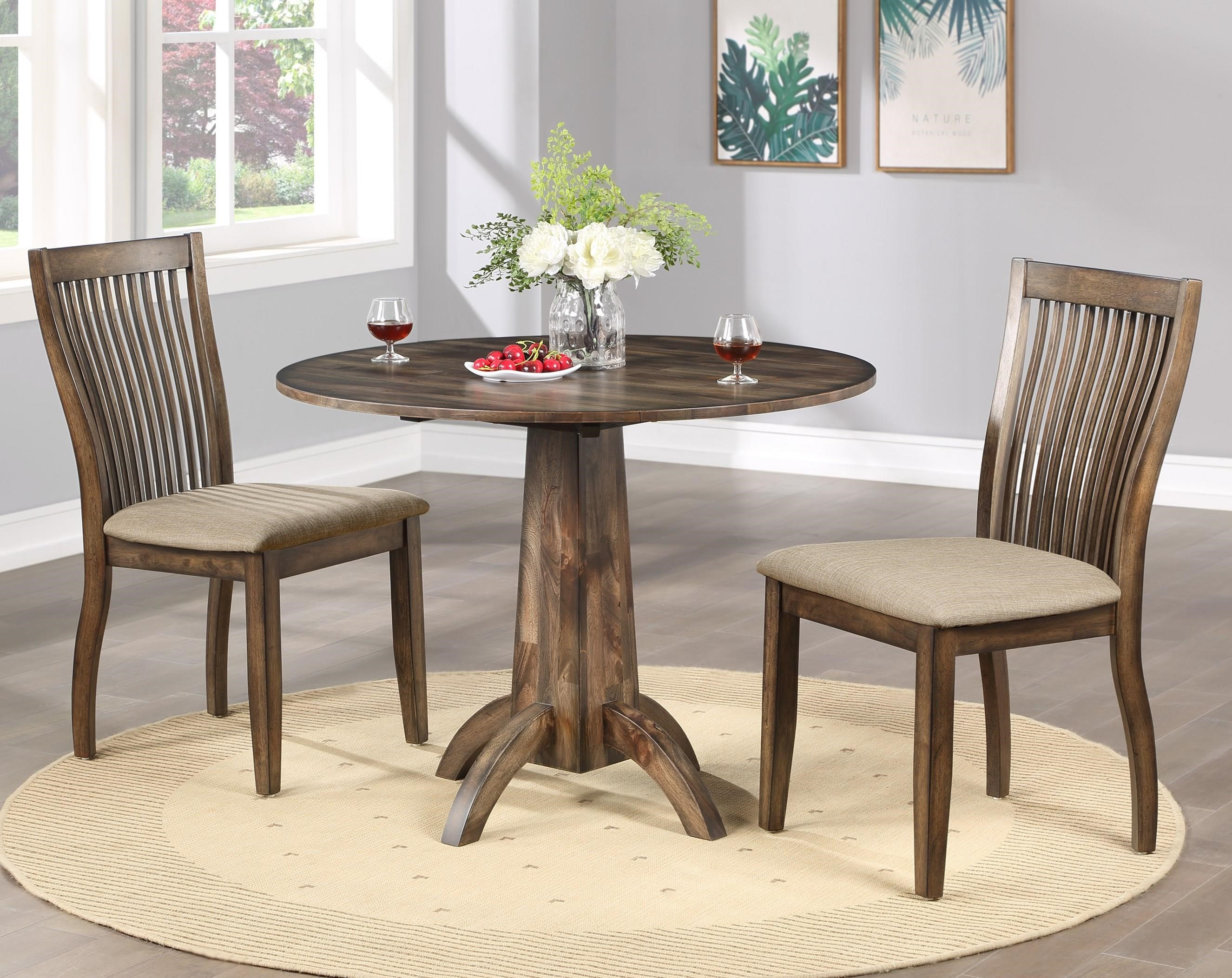Winners Only Zoey 3 Piece Table Set Conlin S Furniture Dining 3 Piece Sets