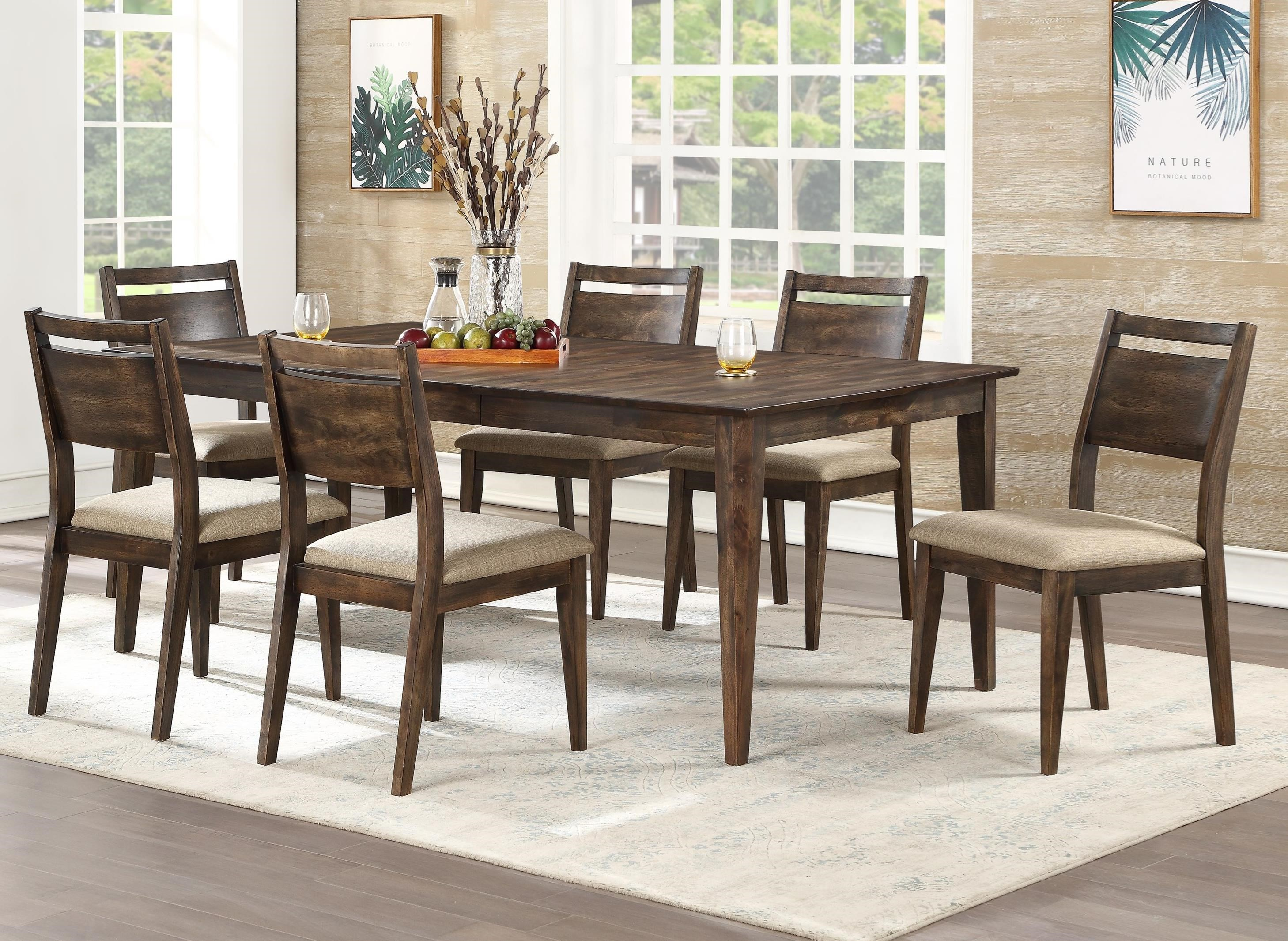 Winners Only Zoey 7 Piece Table Set Conlin S Furniture Dining 7 Or More Piece Sets
