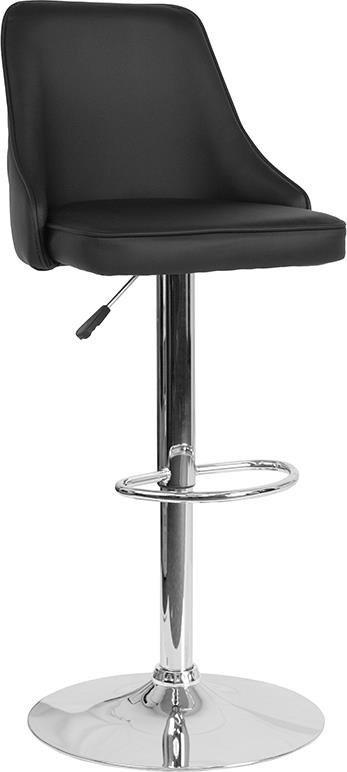 Contemporary Adjustable Height Barstool in B