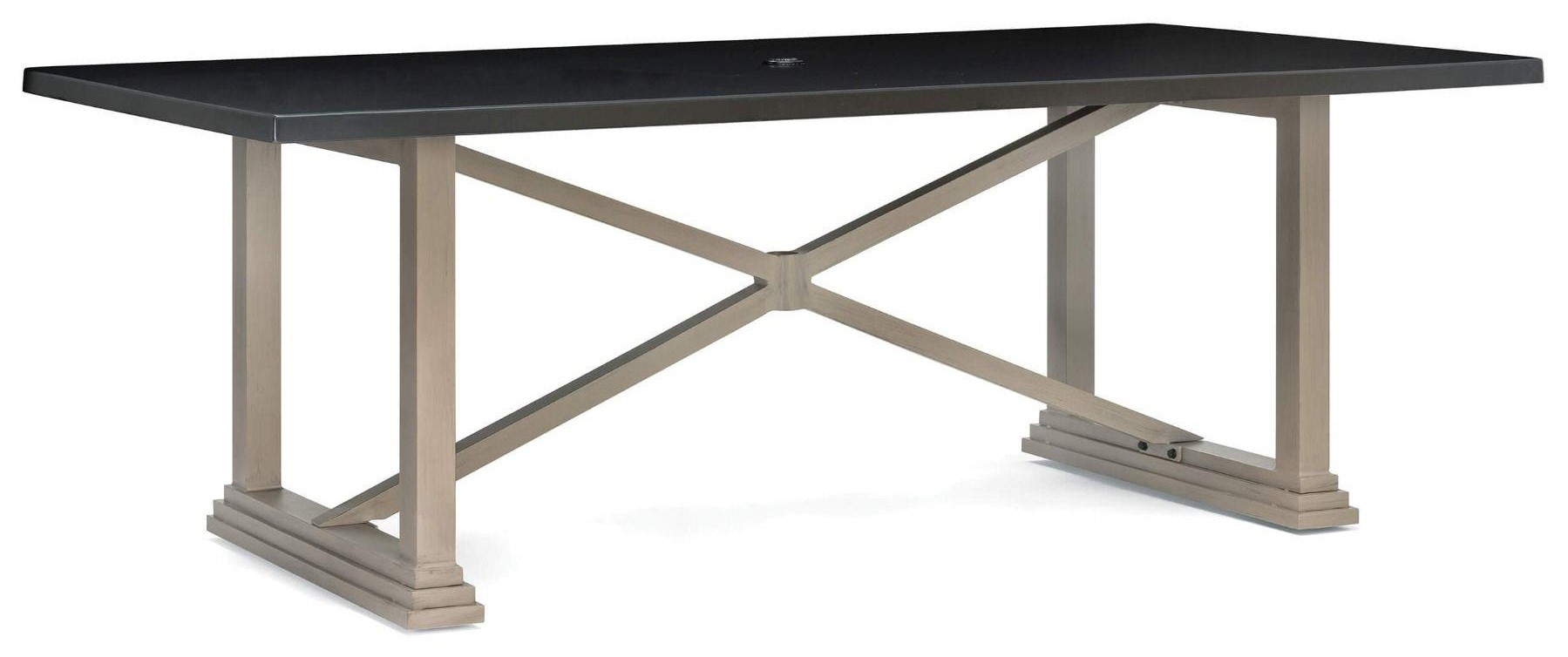 86 inch Table, 2 Arm, 2 Side, Dining Bench