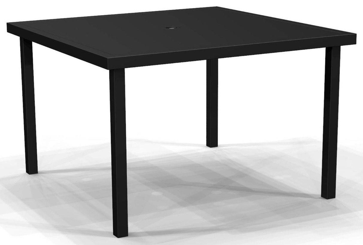 Jasper HQ 44 inch Square Solid Top Table by Winston at Johnny Janosik
