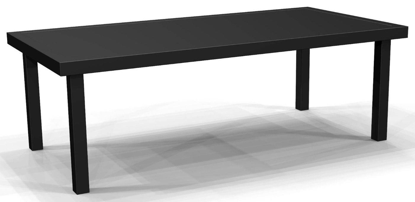 Compass 54 inch Rectangular Cocktail Table