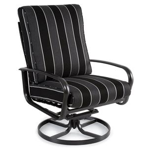 Savoy Cushion Swivel Tilt Lounge Chair w/ Metal Base by Winston