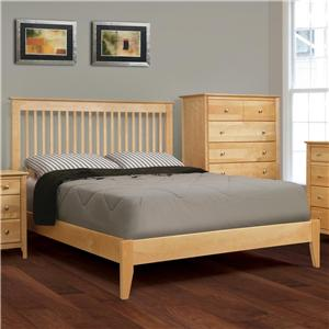 Witmer Furniture Stratford Low Profile Platform Bed