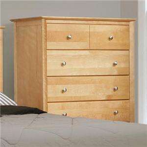 Witmer Furniture Stratford 6-Drawer Chest