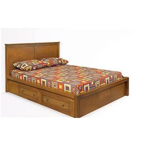 Witmer Furniture Taylor J Queen Platform Storage Bed