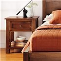 Witmer Furniture Taylor J 1-Drawer Night Stand - Item Number: N121 M