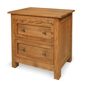 Witmer Furniture Taylor J 2-Drawer Night Stand