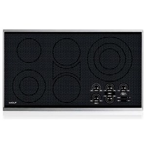 """Wolf Electric Cooktop 36"""" Electric Cooktop - Framed"""
