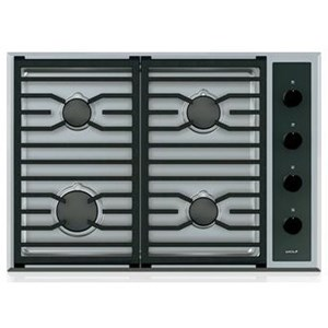 "Wolf Gas Cooktops 30"" Transitional Gas Cooktop - 4 Burners"