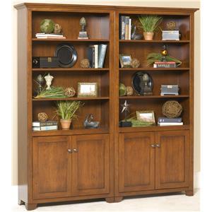 Wonder Wood Wonder Wood Bookcases Customizable Cherry Valley Bookcase