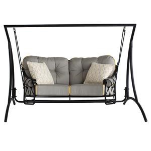 Woodard Derby by Woodard Outdoor Love Seat Swing