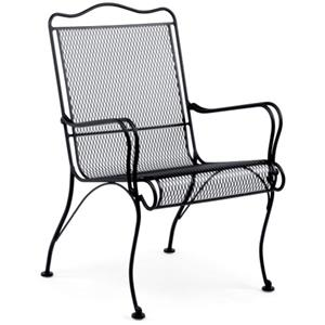 Woodard Tucson High-Back Lounge Chair
