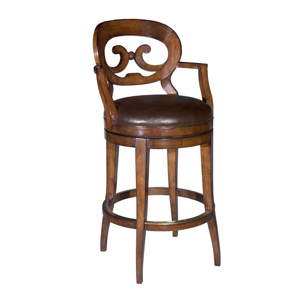 Woodbridge Home Accents 7044-02 Swivel Bar Stool