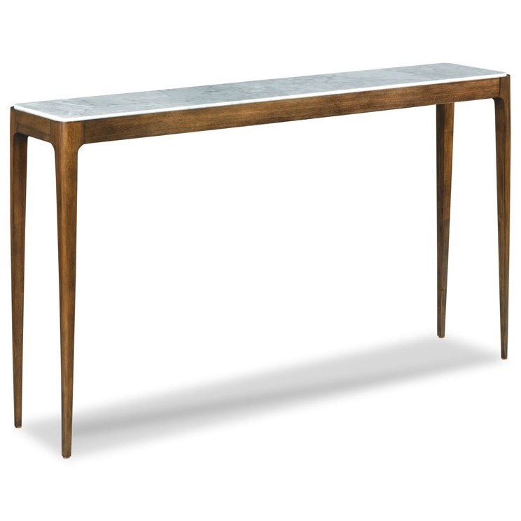 Home Accents Jude Marble Top Hall Table by Woodbridge at Baer's Furniture