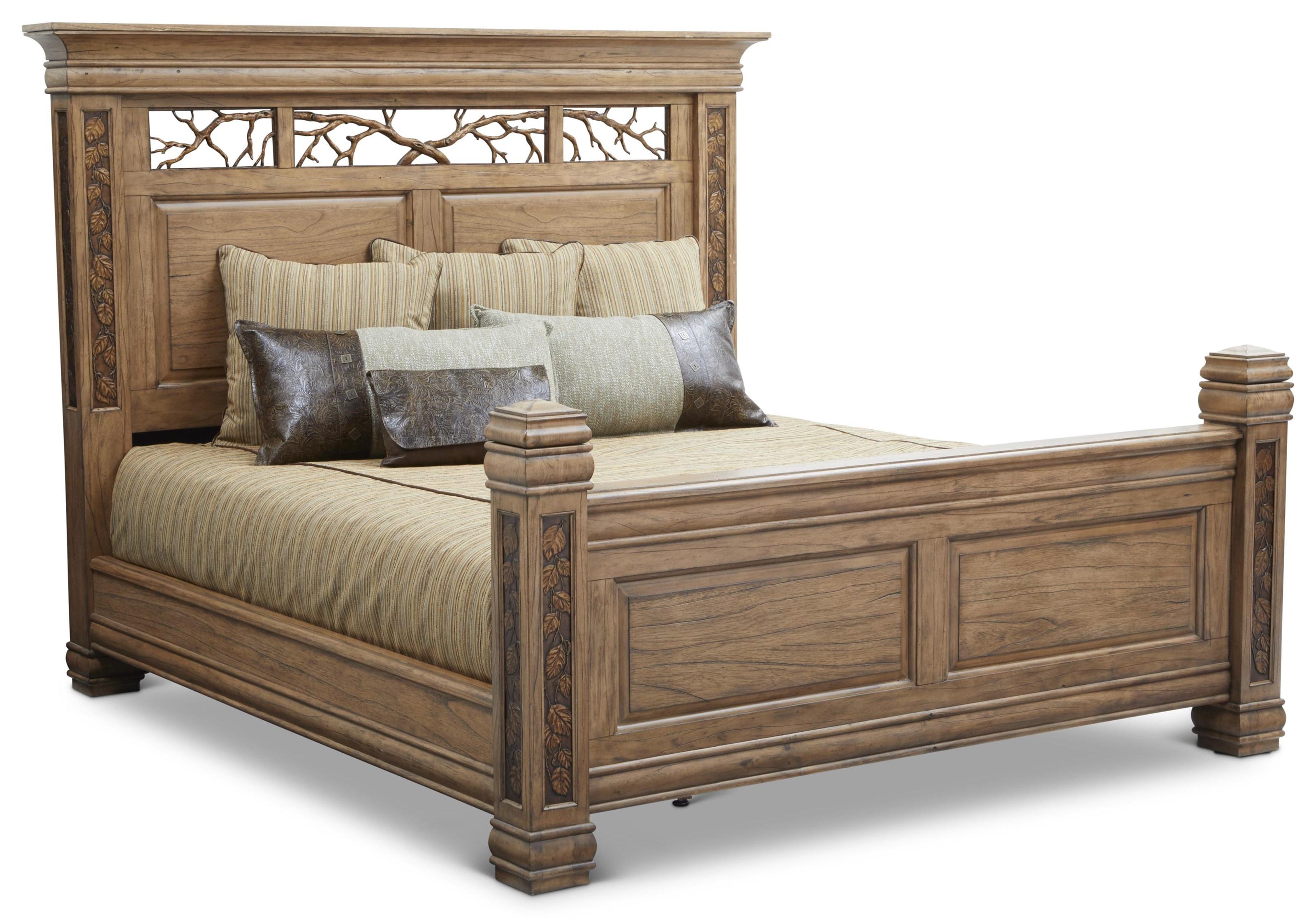 King Bed by Woodbrook Designs