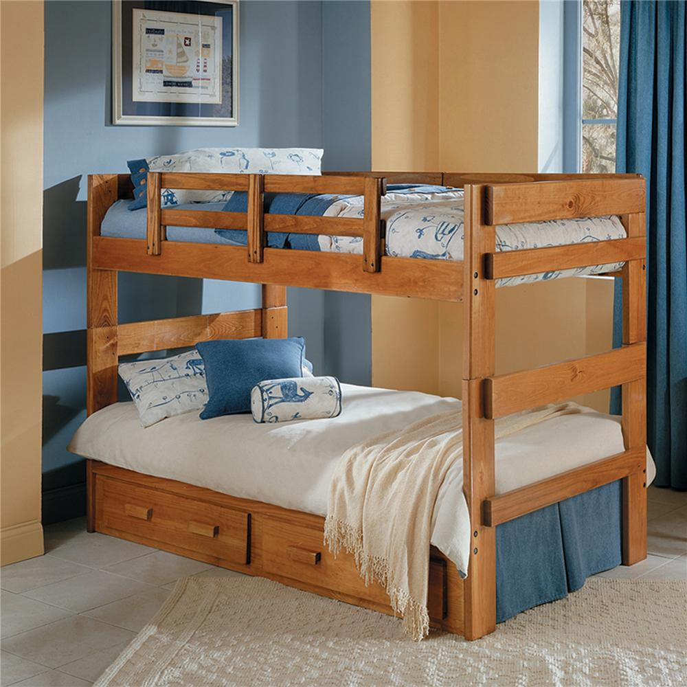 Woodcrest Heartland Br 2602 Split Bunk Bed Furniture Fair North