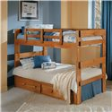 Woodcrest Heartland BR Split Bunk Bed - Item Number: 2602