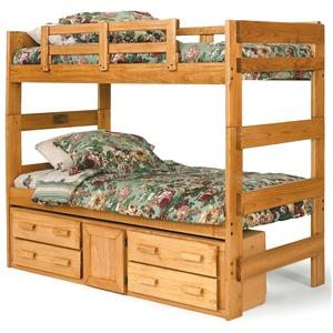 Woodcrest Heartland BR Extra Tall Twin Bunk bed