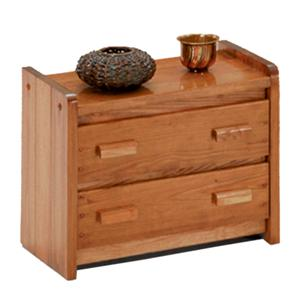 Woodcrest Heartland BR Two Drawer Chest/ TV Stand