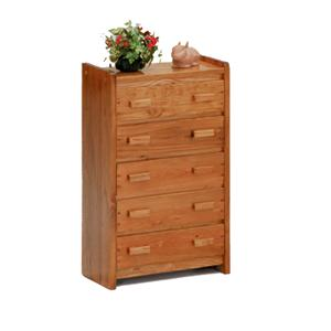 Woodcrest Heartland BR Five Drawer Chest