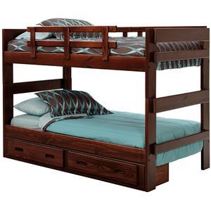 Woodcrest Heartland Split Bunk Bed