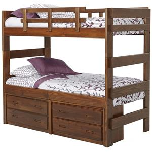 Woodcrest Heartland Extra Tall Twin Bunk bed