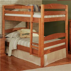 Woodcrest Pine Ridge Square Post Bunk Bed