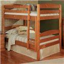 Woodcrest Pine Ridge Square Post Bunk Bed - Item Number: 4100