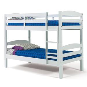 Woodcrest Pine Ridge White Bunk Bed
