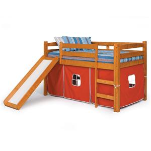 Twin Tent Bed with Slide