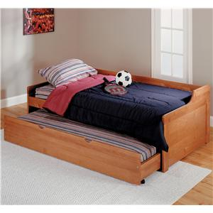 Woodcrest Pine Ridge Twin Daybed with Trundle