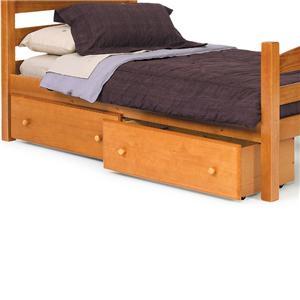 Woodcrest Pine Ridge Underbed Storage Drawer