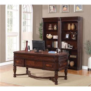 Flexsteel Wynwood Collection Westchester Writing Desk