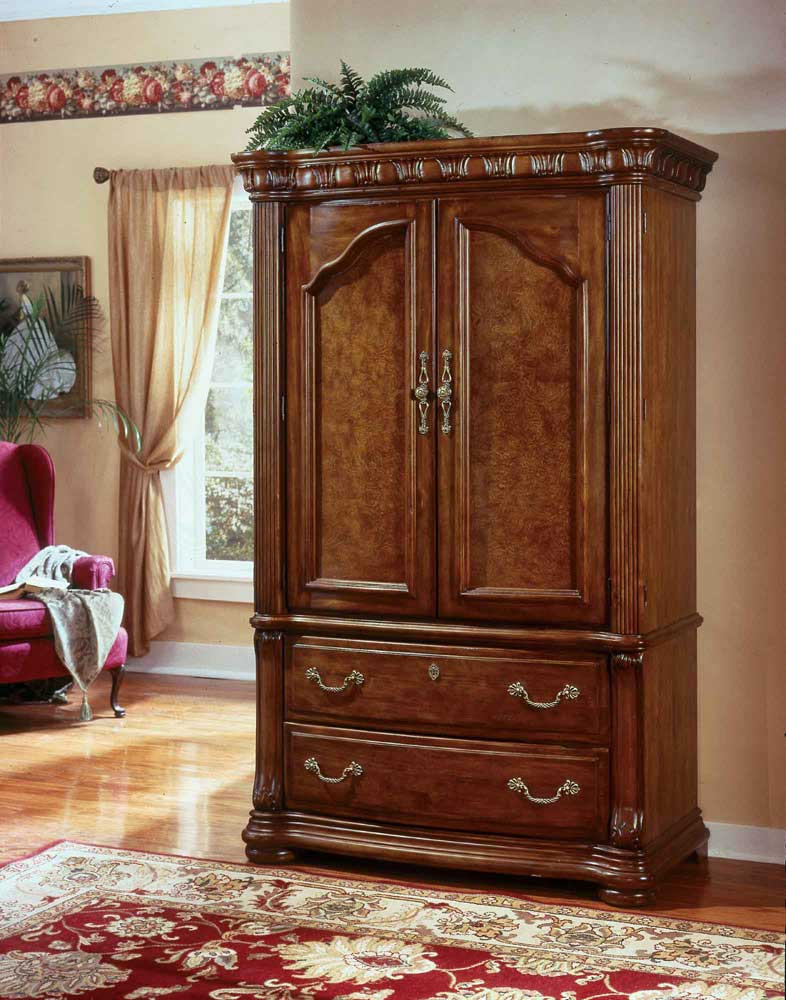 Flexsteel Wynwood Collection Cordoba Entertainment Armoire   AHFA   Armoire  Dealer Locator