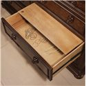 Flexsteel Wynwood Collection Aberdeen 8-Drawer Dresser with Jewelry Tray - False Bottom in Third Right Dresser Drawer