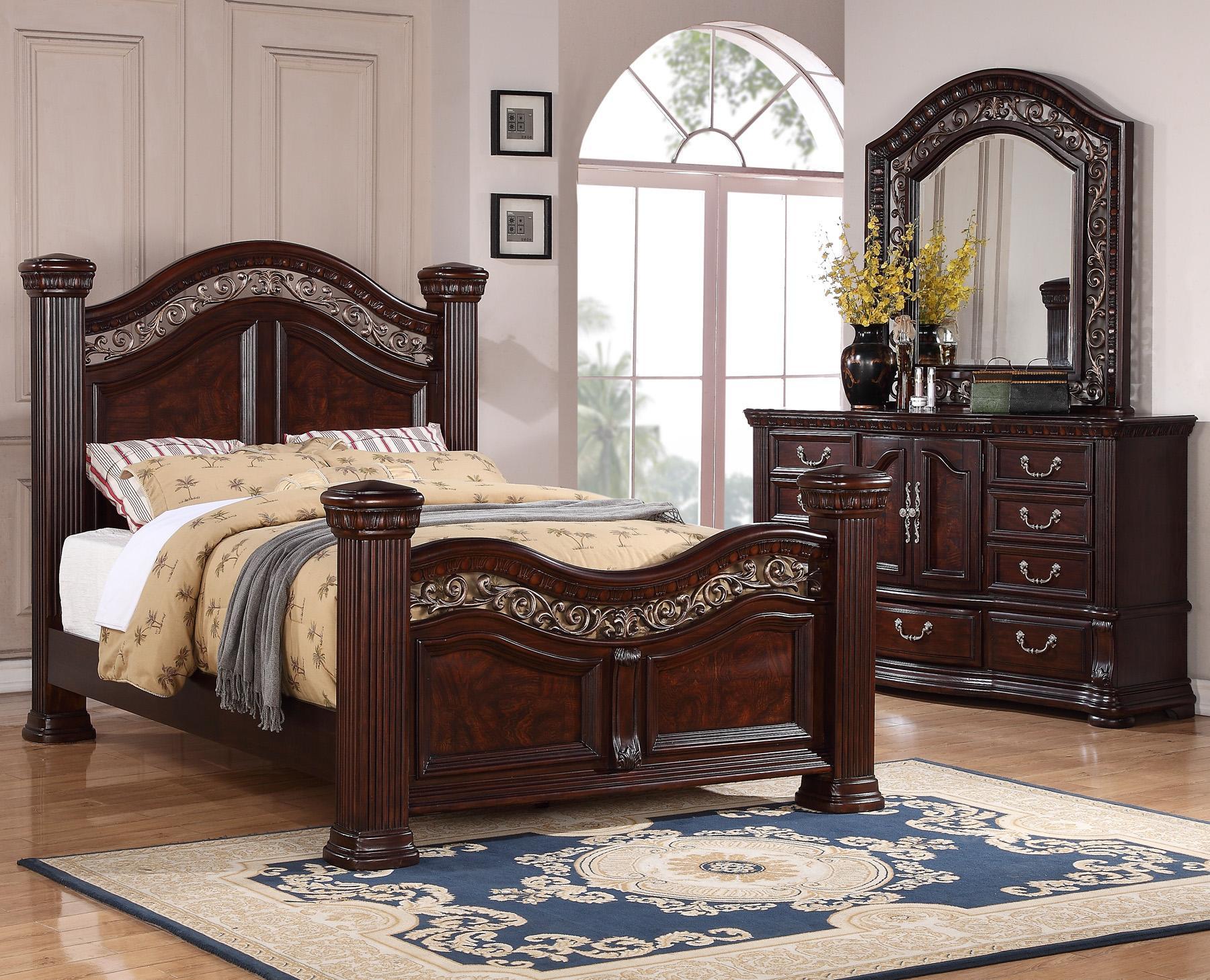 Flexsteel Wynwood Collection Alicante 3 Piece Bedroom Group With Queen Bed And Dresser Mirror Ahfa Dealer Locator