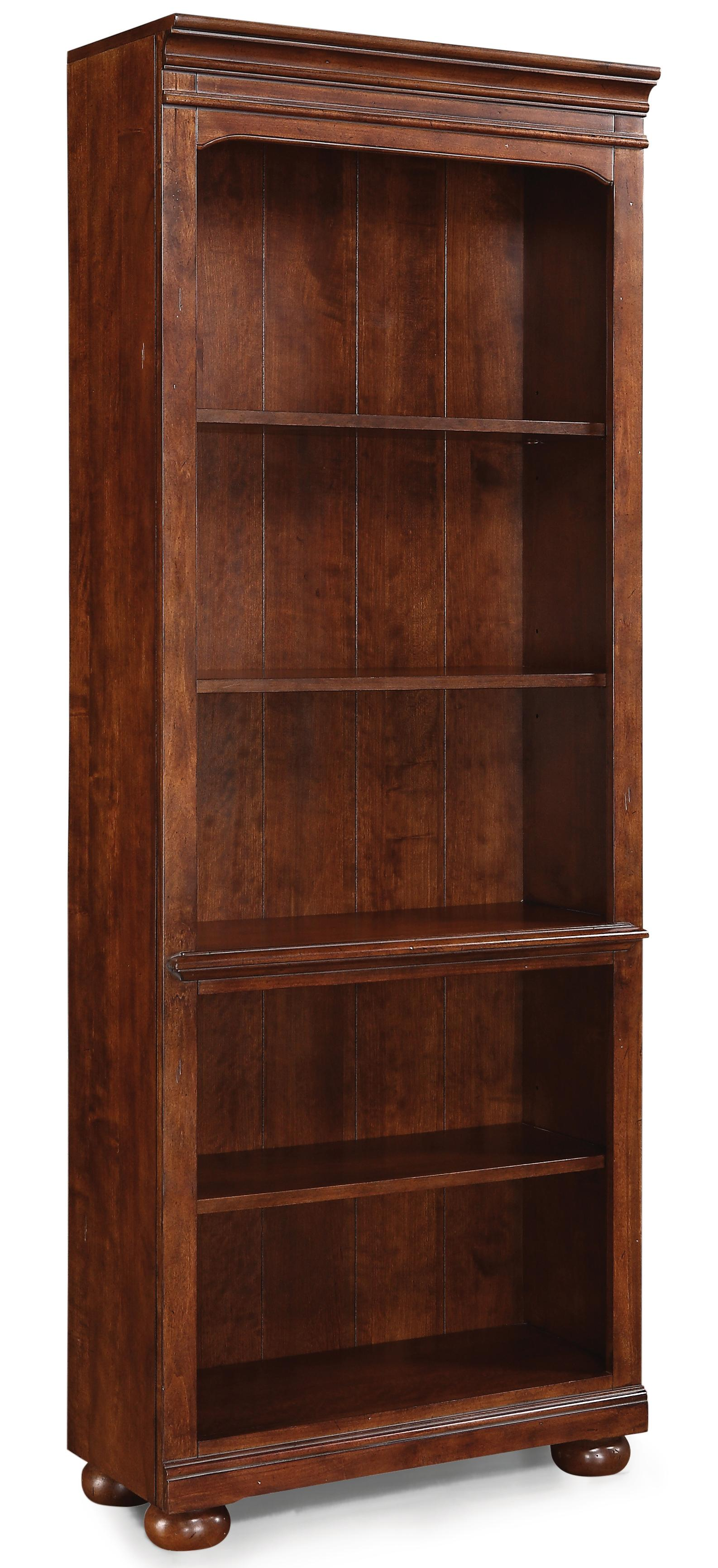 Flexsteel Wynwood Collection American Heritage Bookcase - Item Number: W1209-701