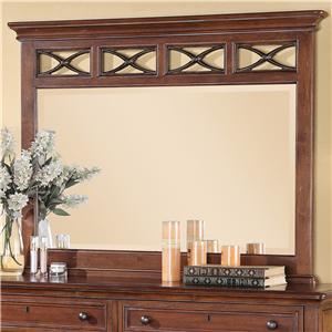 Flexsteel Wynwood Collection American Heritage Mirror