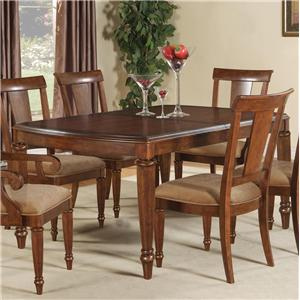 Flexsteel Wynwood Collection Brendon Dining Table