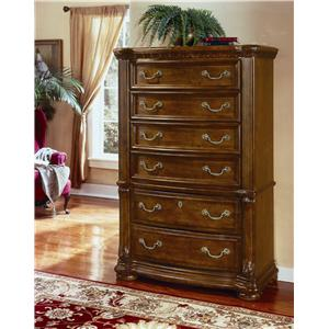 Flexsteel Wynwood Collection Cordoba 6 Drawer Chest