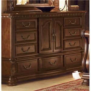 Flexsteel Wynwood Collection Granada 9 Drawer Dresser